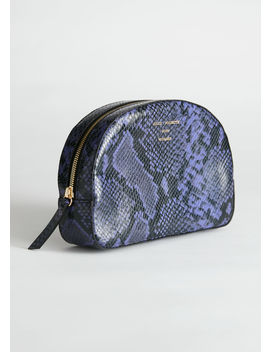 Half Moon Snake Vanity Bag by & Other Stories
