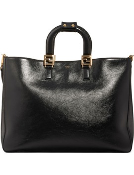 large-glacier-top-handle-leather-tote by fendi