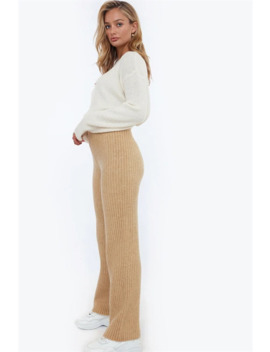 Rib Knit Pants by Chiquelle