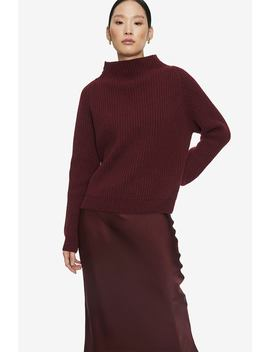 emelie-sweater---burgundy by anine-bing