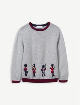 marching-band-cotton-jumper-1-6-years by the-little-white-company