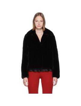 black-rex-rabbit-fur-jacket by yves-salomon