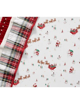 Merry Santa Baby Bedding by Pottery Barn Kids