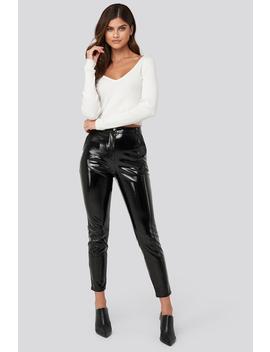 highwaist-patent-pants-black by adorablecaroxnakd