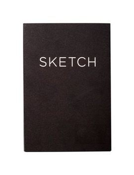 Open Bound Sketchbook Small Black by Picadilly