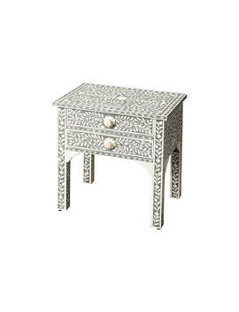 Patrice Nightstand, Gray by One Kings Lane