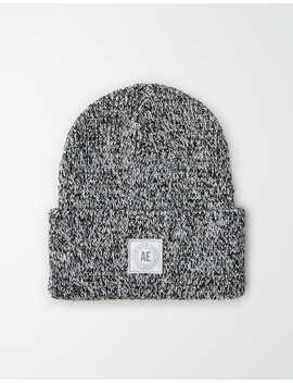 aeo-heathered-reflective-beanie by american-eagle-outfitters