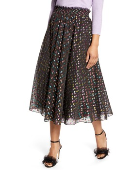x-atlantic-pacific-rainbow-dot-full-skirt by halogen