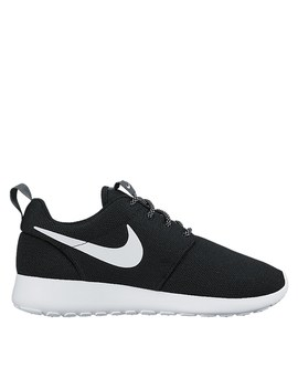 Women's Roshe One Run Sneakers In Black by Nike