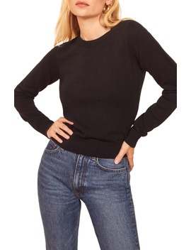 cashmere-blend-sweater by reformation