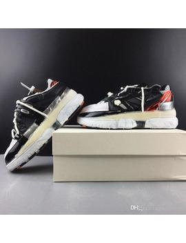 Italy Brand Maison Margiela Melted Detail Fusion Sneakers 2019 New Sports Shoes Dissolving Dad Shoes Designer Clunky Sneaker by D Hgate.Com