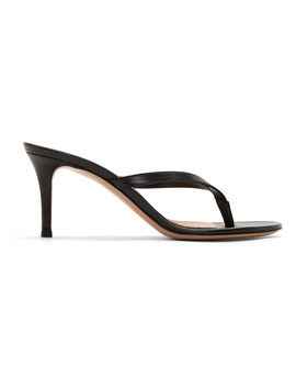 black-70-heeled-sandals by gianvito-rossi