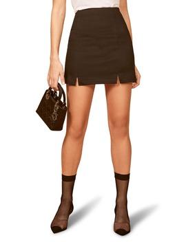 oak-miniskirt by reformation