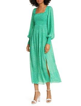 marie-floral-print-long-sleeve-midi-dress by rixo