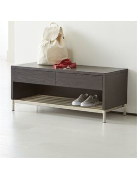 Gradin Shoe Rack Bench by Crate&Barrel