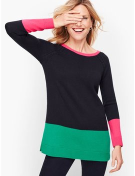 color-blocked-cable-detail-sweater by talbots