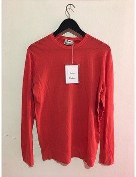 acne-studios-declan-ss15-red-knit-sweater by acne