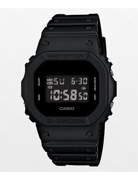 G Shock Dw5600 Black Out Digital Watch by Zumiez
