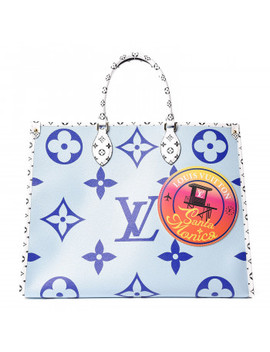 louis-vuitton-monogram-giant-santa-monica-onthego-blue by louis-vuitton
