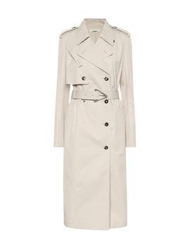 cotton-blend-gabardine-trench-coat by bottega-veneta