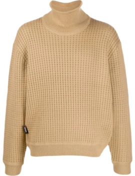 roll-neck-waffle-knit-jumper by affix