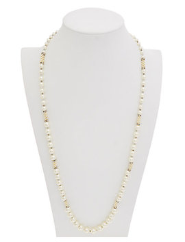 carolee-pearl-premier-cz-endless-strand-necklace by carolee