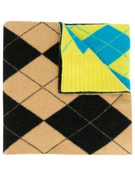 reissued-argyle-intarsia-scarf by pringle-of-scotland