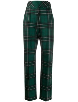 tapered-tartan-trousers by pringle-of-scotland