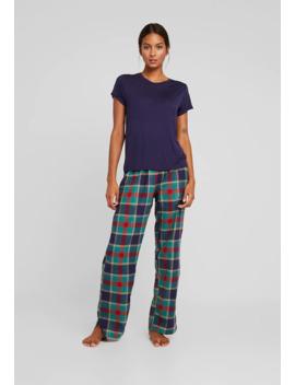 christmas-check-long-set---pyjamas by chelsea-peers