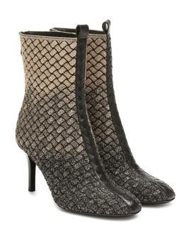 intrecciato-knitted-ankle-boots by bottega-veneta