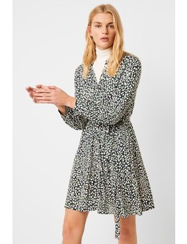 Vasha Meadow Jersey Printed Shirt Dress by French Connection