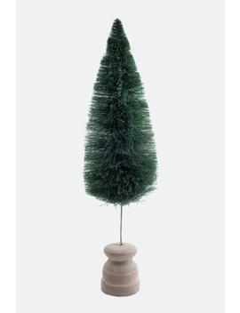 Green Artificial Brush Tree by Francesca's