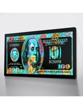 dollars-posters-prints-colorful-canvas-posters-art-wall-pictures-for-room-quadros-canvas-art-money-wall-paintings-drop-shipping by aliexpresscom