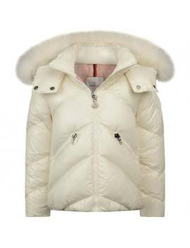 girls-ivory-down-padded-anglais-coat by moncler
