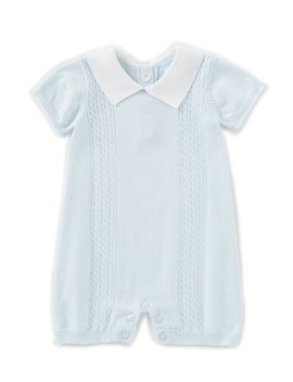 baby-boys-newborn-6-months-sweater-knit-romper by edgehill-collection