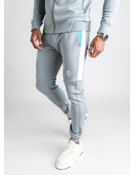 gk-core-plus-poly-contrast-tracksuit-bottoms---stone-grey_aqua by the-gym-king