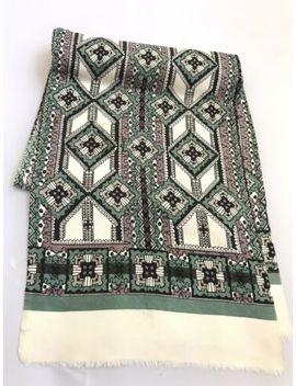 mens-vintage-silk-scarf-necktie-paisley-100%-silk-cravat-italy by ebay-seller