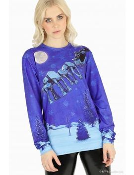 Darth Vader Sleigh Long Sleeve Bft Bm Fit   Limited by Black Milk