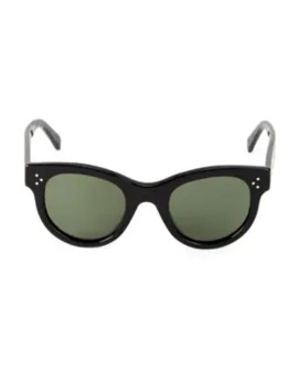 48mm-round-sunglasses by celine