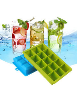 big-giant-jumbo-large-size-silicone-ice-cube-mould-square-mold-tray-diy-maker by ebay-seller