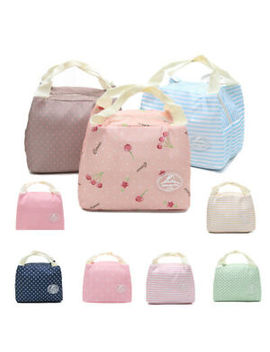 adults-women-ladies-girls-portable-insulated-lunch-bag-box-picnic-tote-thermal by ebay-seller