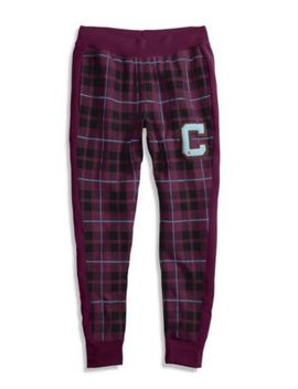 Champion Life® Men's Reverse Weave® Plaid Joggers by Champion