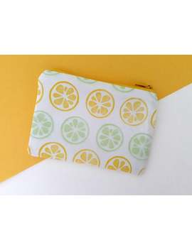 hand-printed-lemon-&-lime-coin-purse by etsy