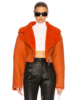shearling-jacket by off-white