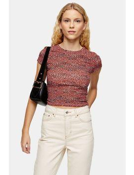 Multi Leopard Print T Shirt by Topshop