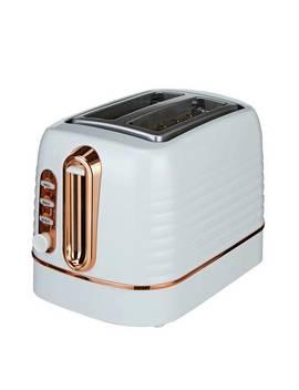 Cookworks Horizon Stripe 2 Slice Toaster   Multi852/0616 by Argos