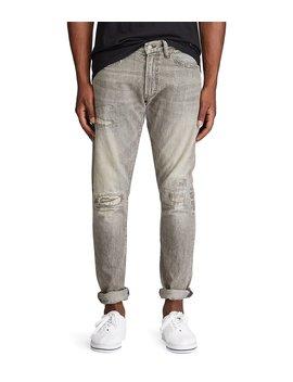 Sullivan Slim Fit Brennan Repaired Jeans by Polo Ralph Lauren