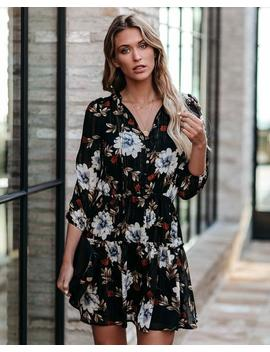 anthony-floral-tiered-shimmer-dress by vici