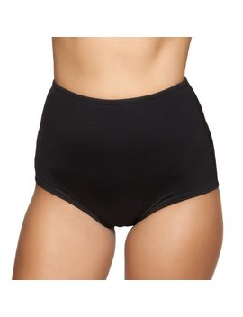 classic-high-waisted-bottoms--black by alien-outfitters