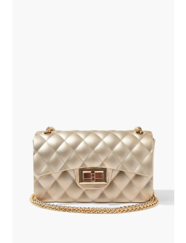 quilted-twist-lock-crossbody-bag by forever-21